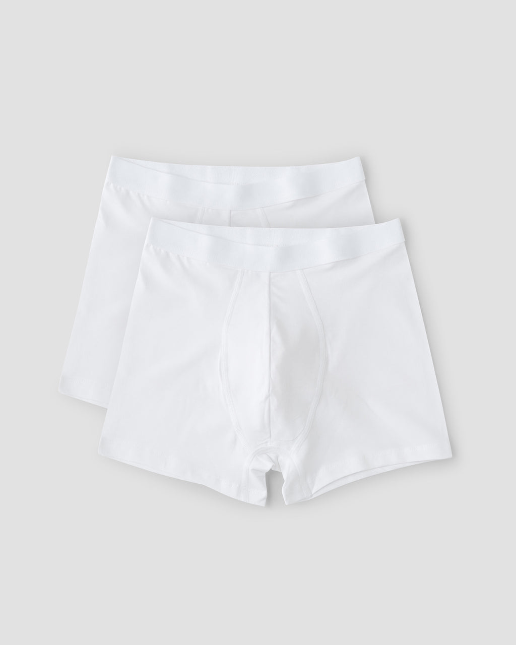 Organic Cotton Boxers 2-pack, White