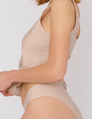 Invisible Cheeky Briefs 2-pack, Nude