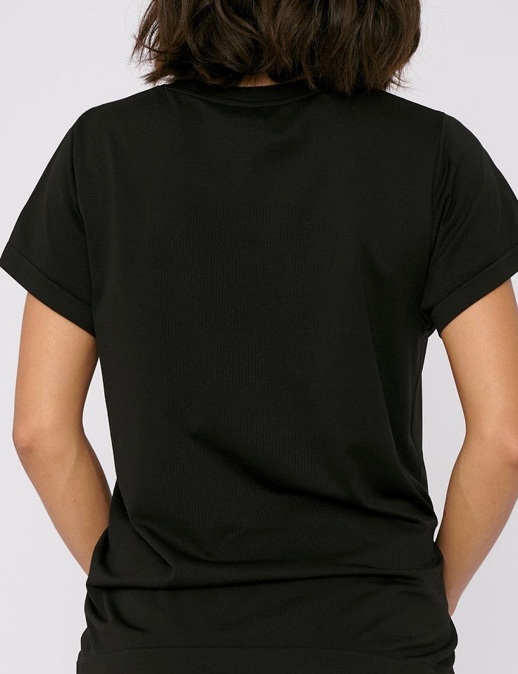 SilverTech Active Tee, Black