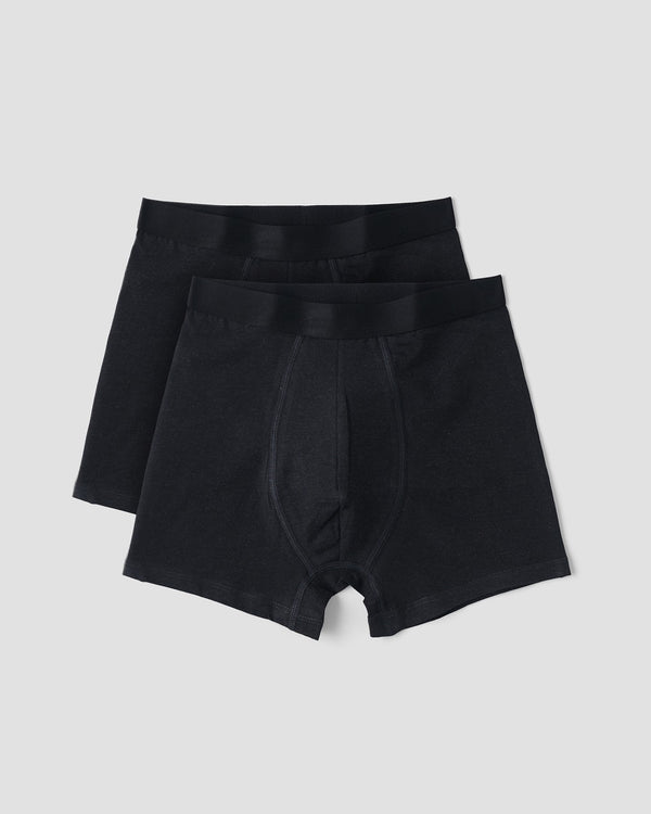 SilverTech (Everyday) Boxers 2-pack, Black
