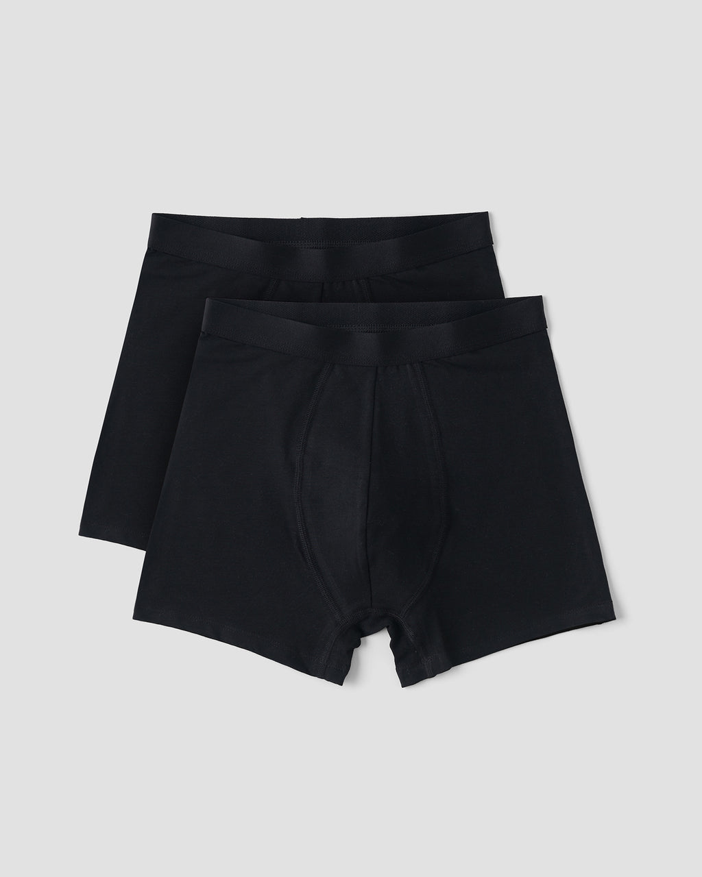 Organic Cotton Boxers 2-pack, Black