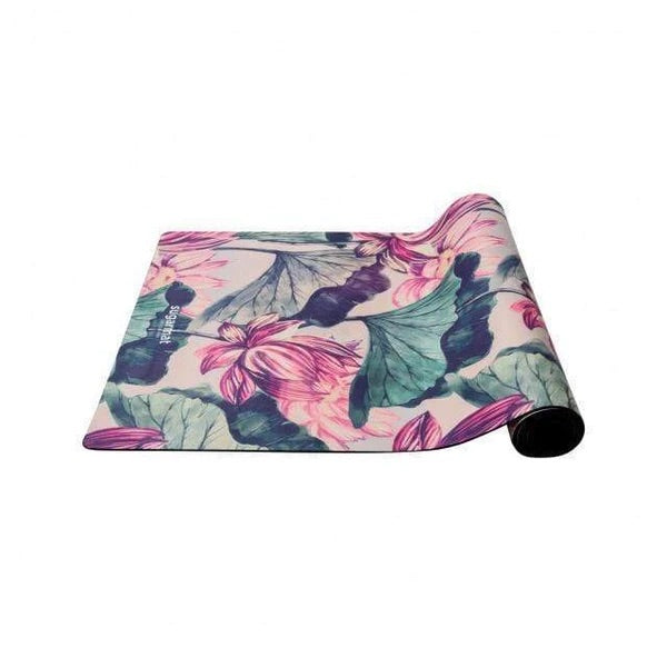 Sugarmat Suede Yoga Mat, Pink Lotus (3 mm)