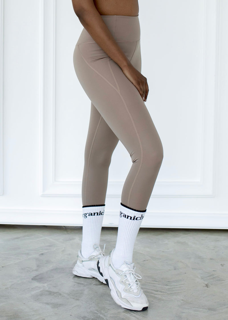 Compressive High-Rise Legging, Limestone