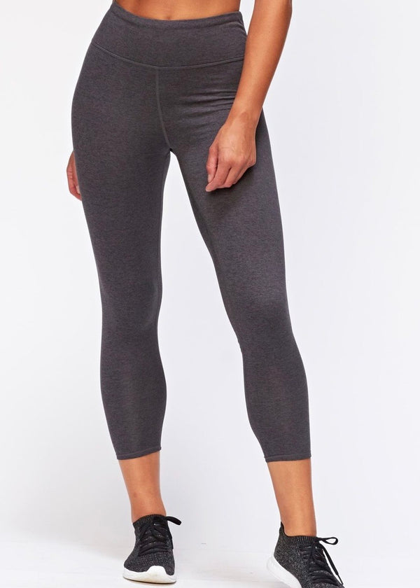 Monica High-Rise Leggings, Charcoal