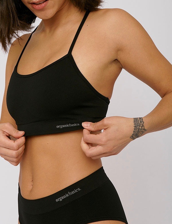 SilverTech Active Sports Bra, Black