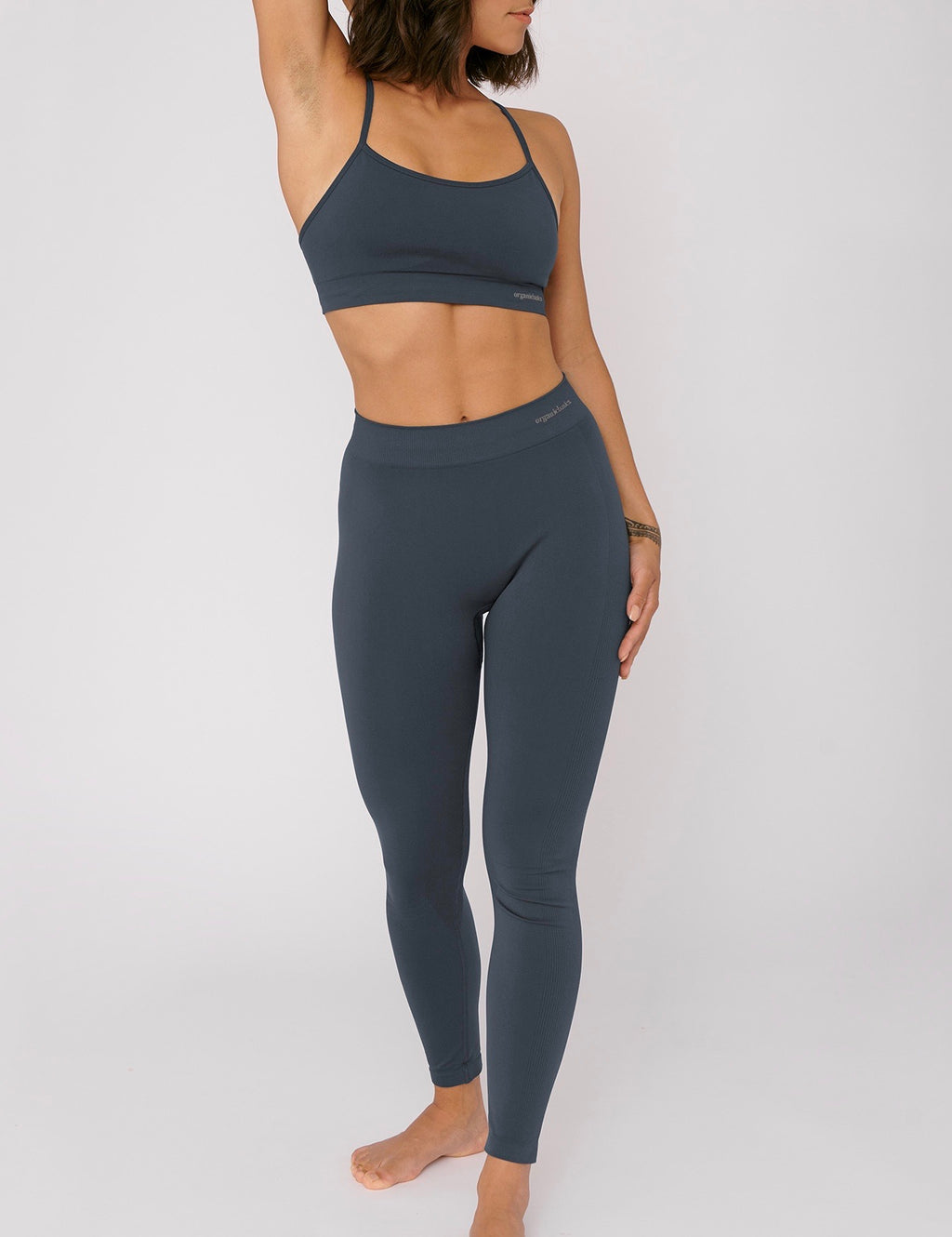 SilverTech Active Leggings, Sea Blue