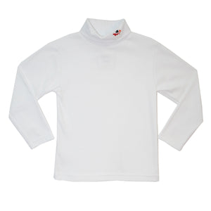 Snowman Embroidered Turtle Neck