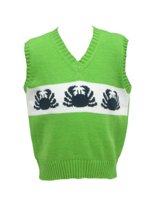Crabs Sweater Vest