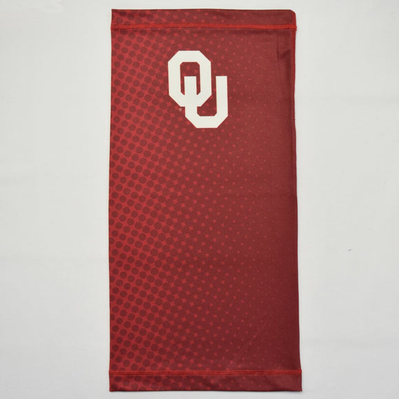 Oklahoma Ombre Polka Red Neck Gaiter