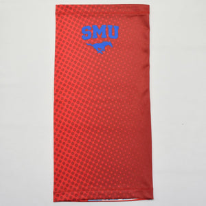 SMU Ombre Polka Red Neck Gaiter
