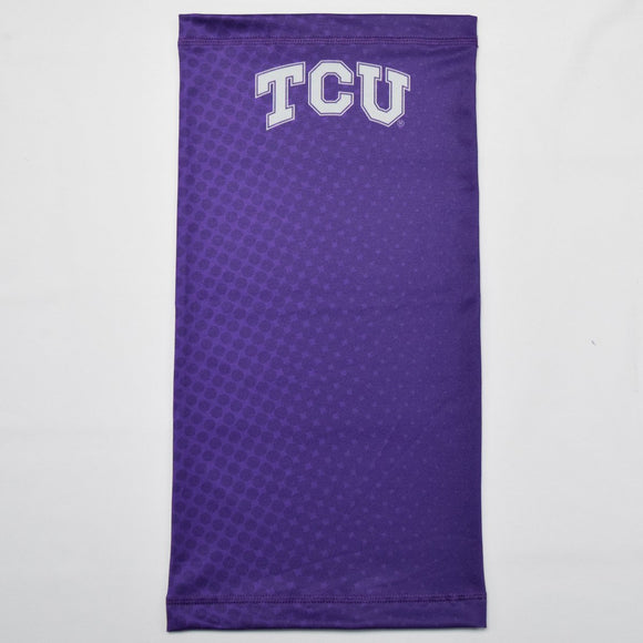 TCU Ombre Polka Purple Neck Gaiter