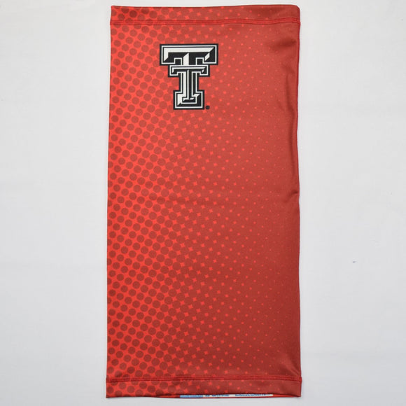 Texas Tech Ombre Polka Red Neck Gaiter