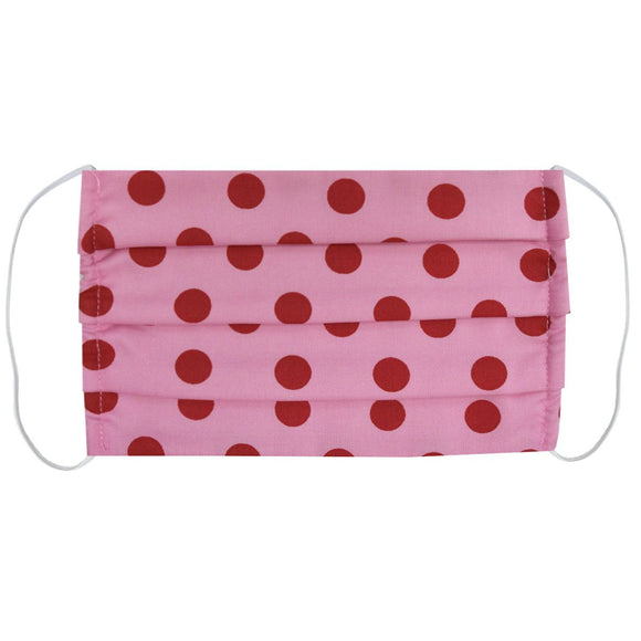 Pink with Red Dots Mask