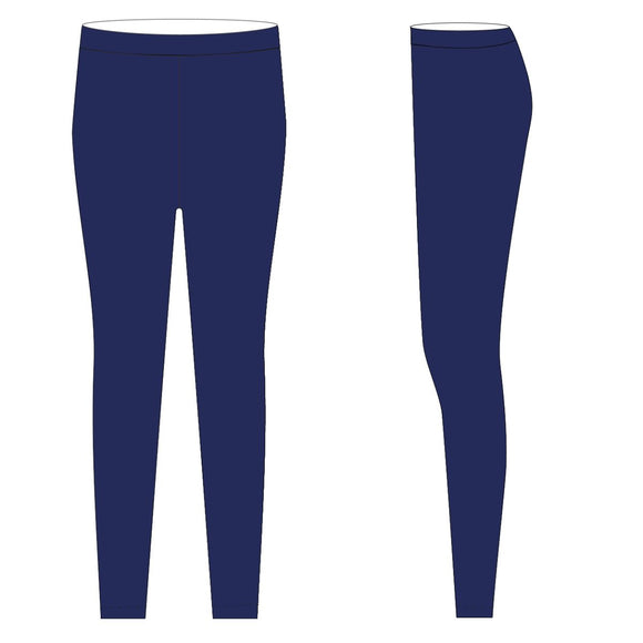 Royal Solid Leggings