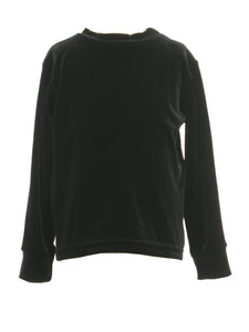 Black Velour Shirt