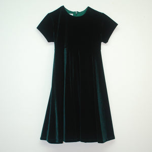 Hunter Velvet Swing Dress