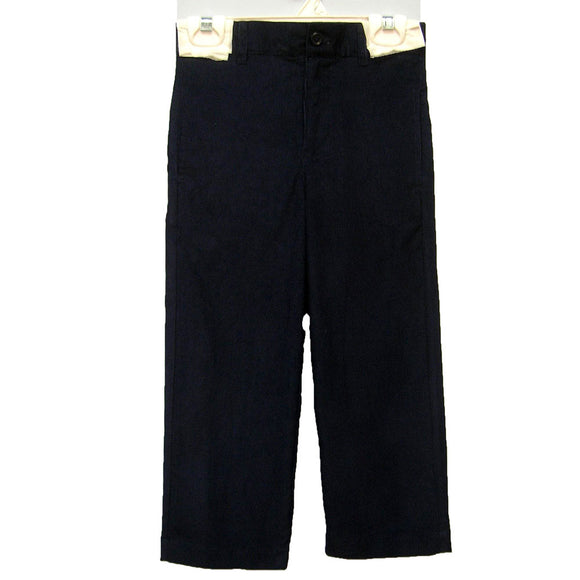 Black Corduroy Structured Pant