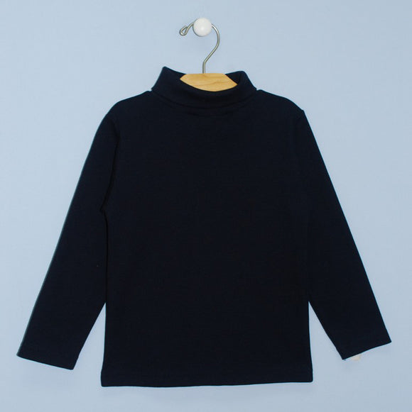 Simi Navy Turtle Neck