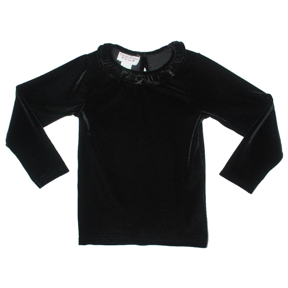 Black Velaur Shirt