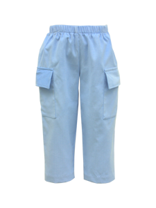Party Blue Cord Cargo Pant