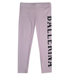 Ballet Ballerina Light Pink Leggings