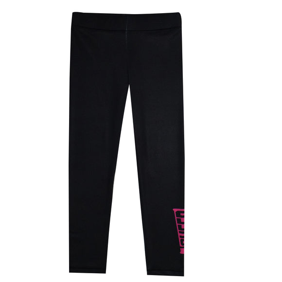 Cheer Megaphone Black Leggings