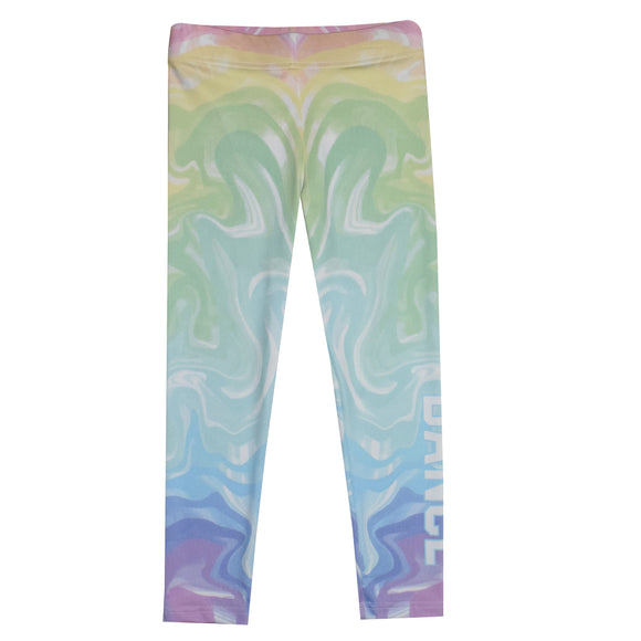 Watercolor Dance Leggings