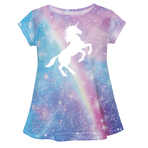 Universe Unicorn Pink Laurie Top Short Sleeve