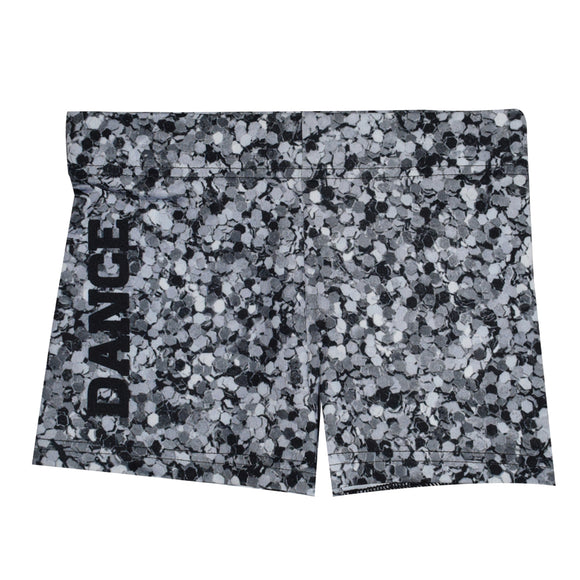Glitter Gray Dance Shorties