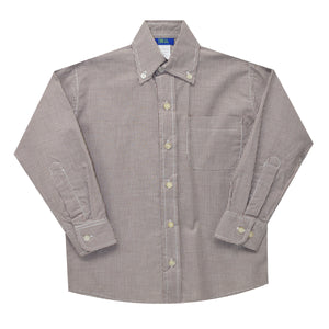 Brown Ck Button Down Shirt (l s)