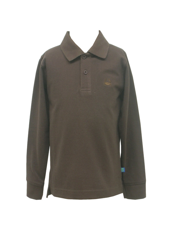 Brown Polo Box Shirt