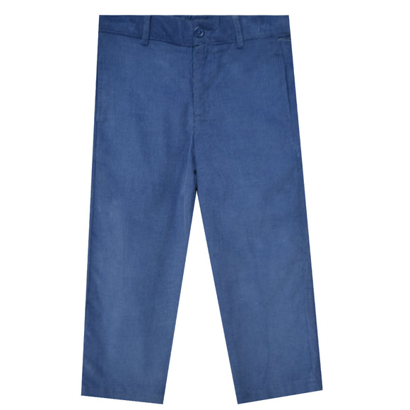 Denim Cord.structured Pants
