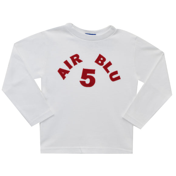 Air Blu 5 Applique T-shirt