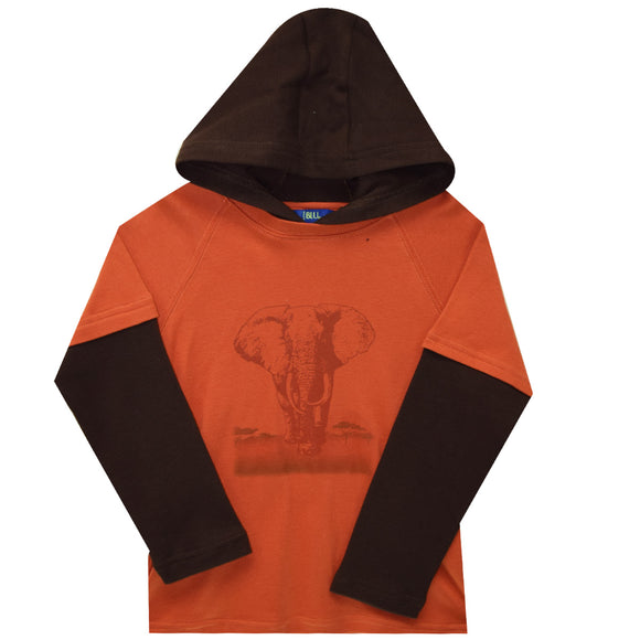 Safari Tee shirt hood