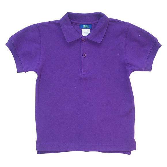 Purple Polo Box Shirt