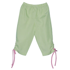 Green Stripe Capri Pant