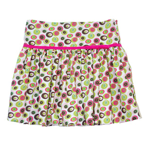 Multicolored Circles Skirt