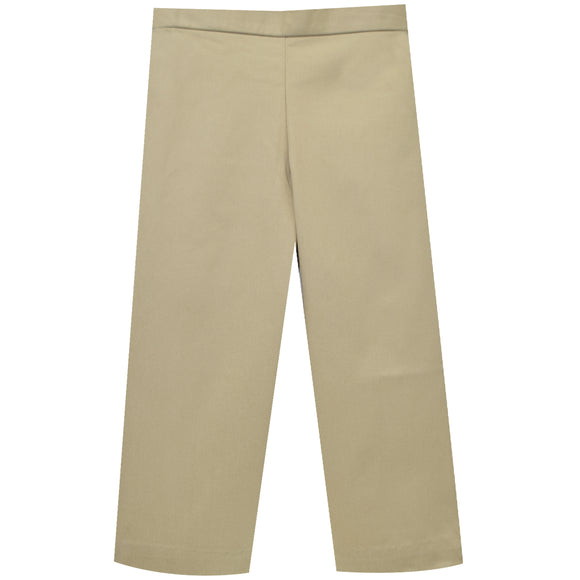 Khaki Twill Girls Pants