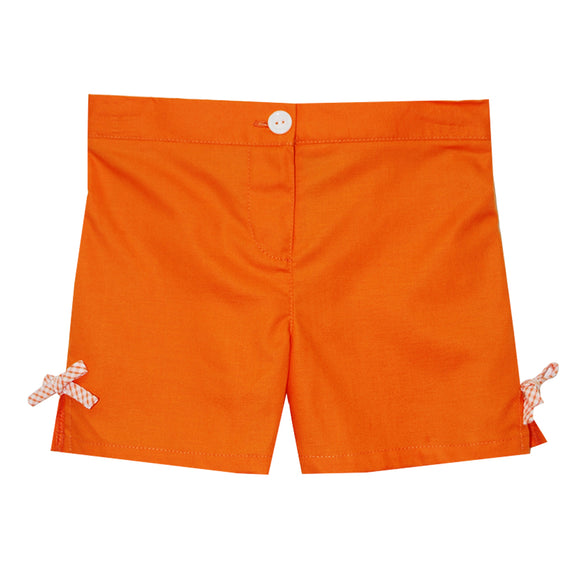 Orange Girls Short