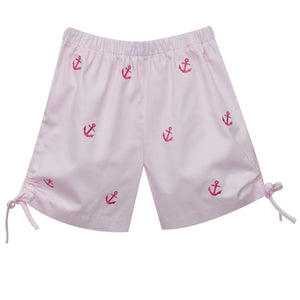 Anchor Embroidery Girls Short