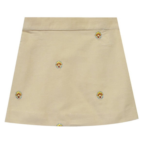 Provence Embroidery Skirt