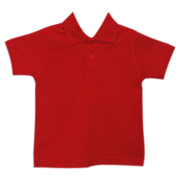 Red Polo Box Shirt