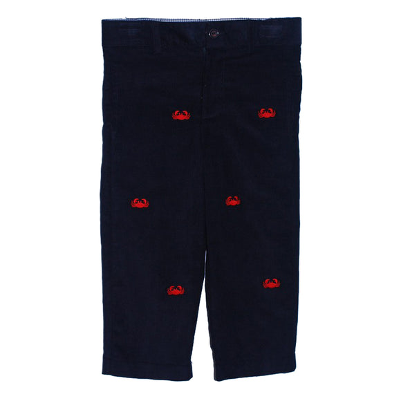 Emb Crabs Boys Structured Pant