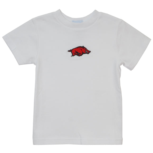 Embroidered Arkansas Tee Shirt