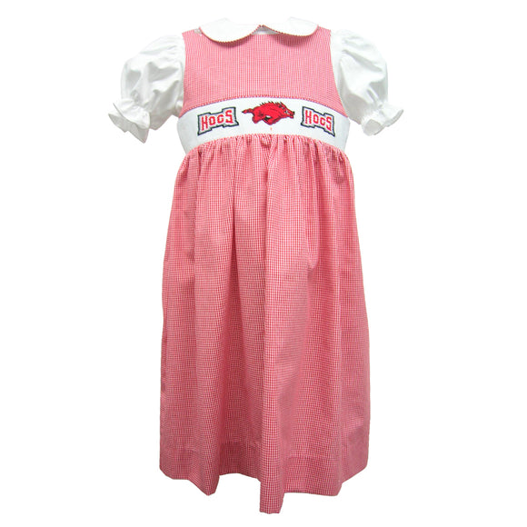 Arkansas Smocked Jumper and Blouse Short Sleeve