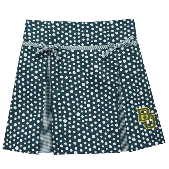 Baylor Pleated Polka Dots Skirt