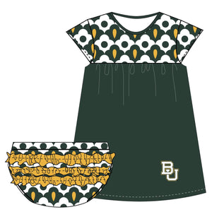 Baylor Cap Sleeve Dress and Bloomer