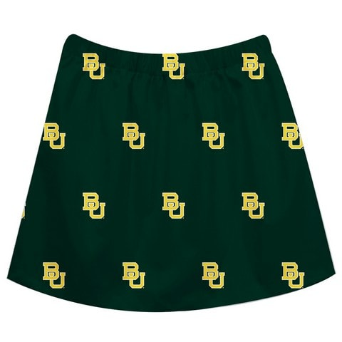 Baylor Print Green Skirt