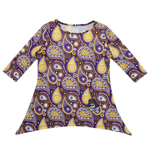 NCAA East Carolina University Long Sleeve Tunic Blouse