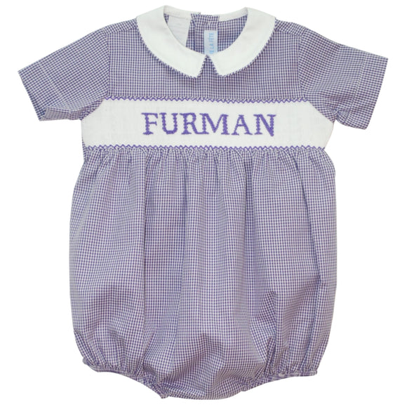 Furman Smocked Boys Bubble